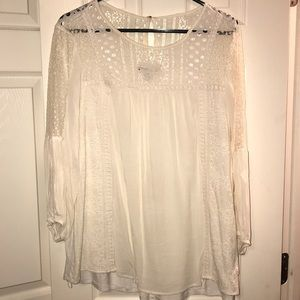 Women's lace shirt